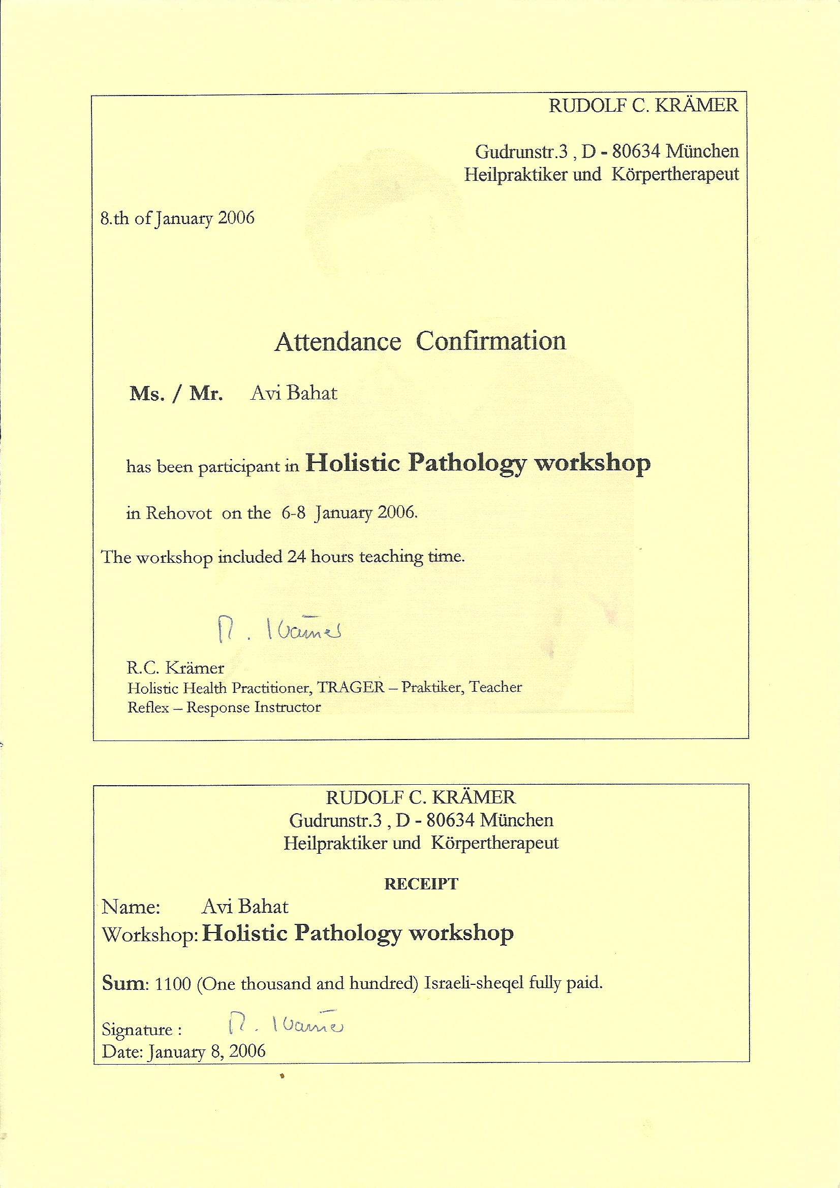Holistic pathology 2006
