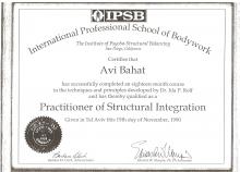 הסמכה באינטגרציה מבנית IPSP 1990
