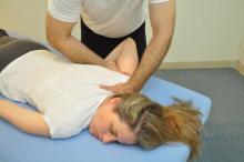 הנעת הזרוע במפרק הכתף